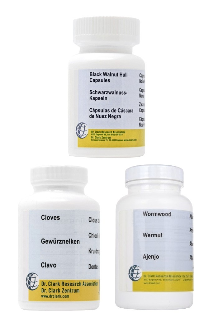 2. Dr Clark Herbal Para Program (3 items)