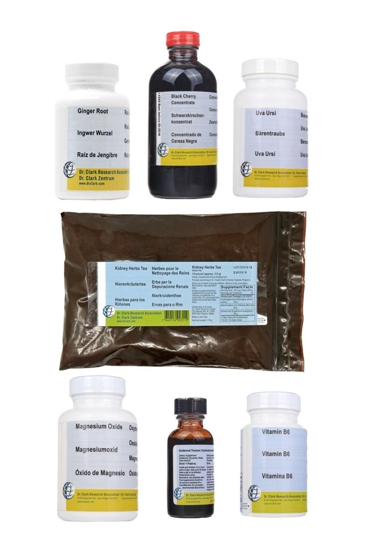 3. Dr Clark 3-Week Herbal Kidney Program