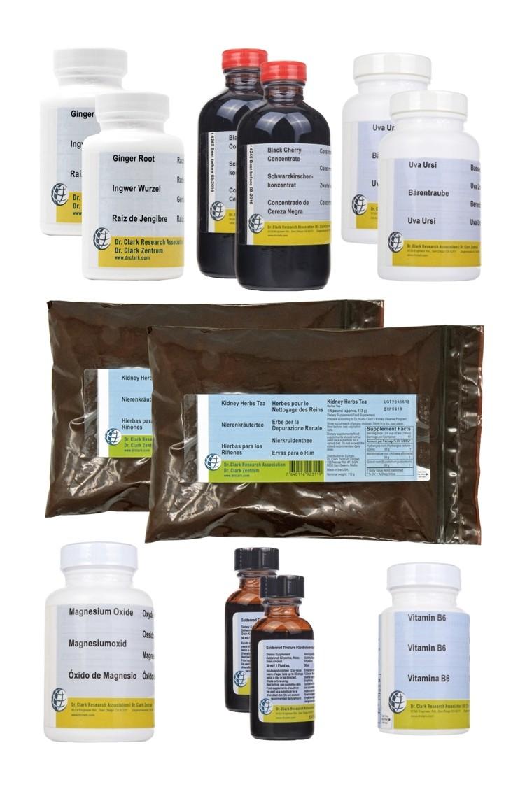 3. Dr Clark 6-Week Herbal Kidney Program