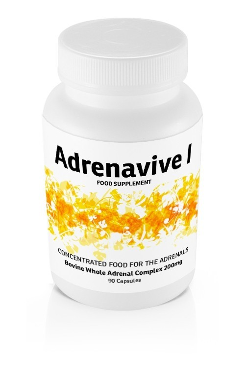 Adrenavive I Whole Adrenal Complex 200mg (90 caps)