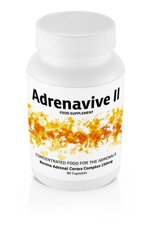 Adrenavive II Adrenal Cortex Complex 150mg (90 caps)