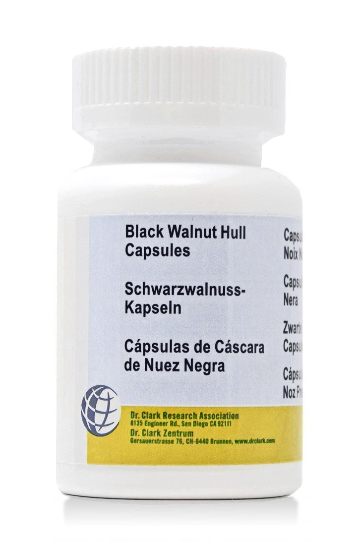 Black Walnut Hull 300mg (50 Caps)