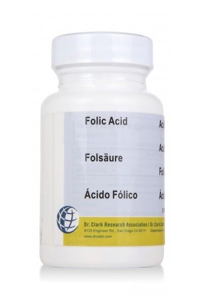 Vitamin B9 (Folic acid) 1mg (50 Caps)