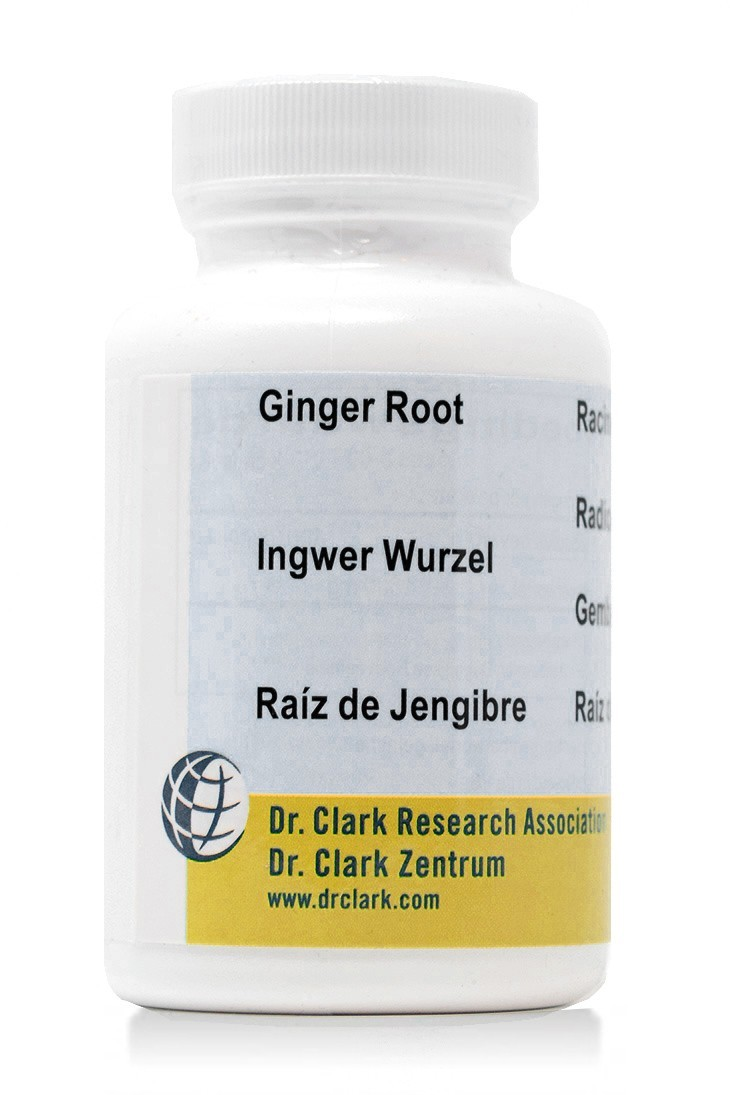 Ginger Root 500mg (100 Caps)