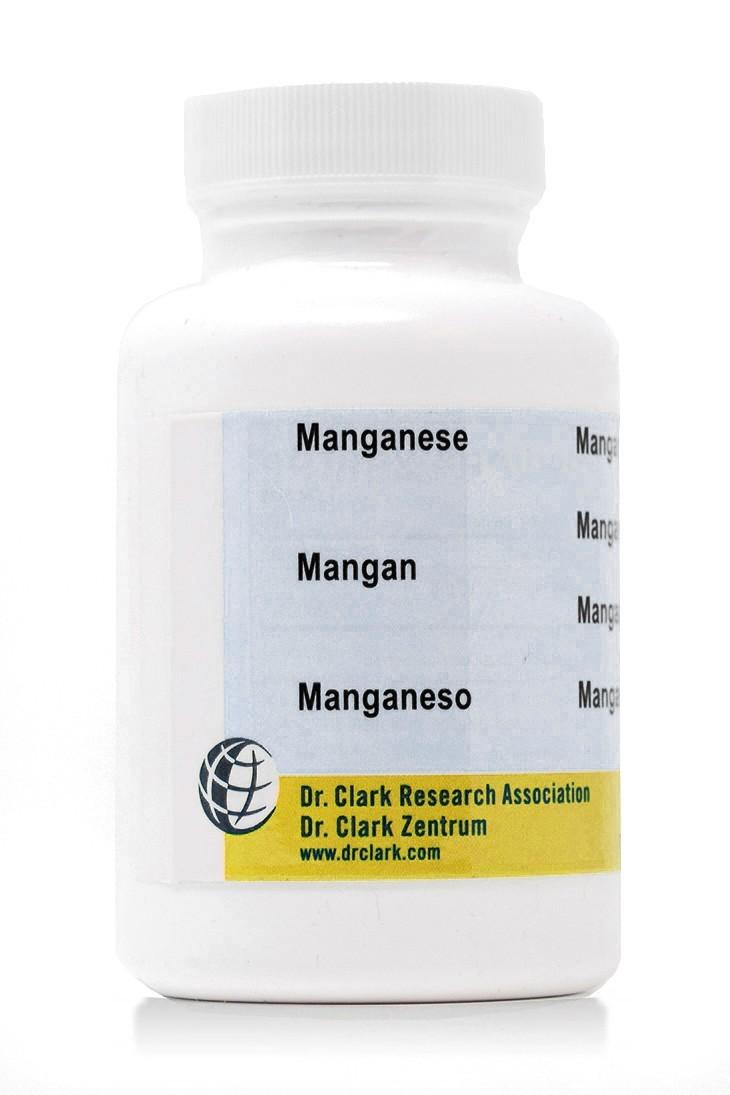 Manganese 10mg (100 Capsules)