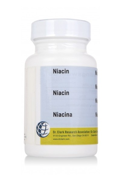 Vitamin B3 (Niacin) 25mg (100 Caps)