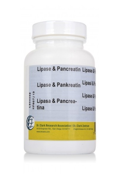 Pancreatin & Lipase 500mg (100)