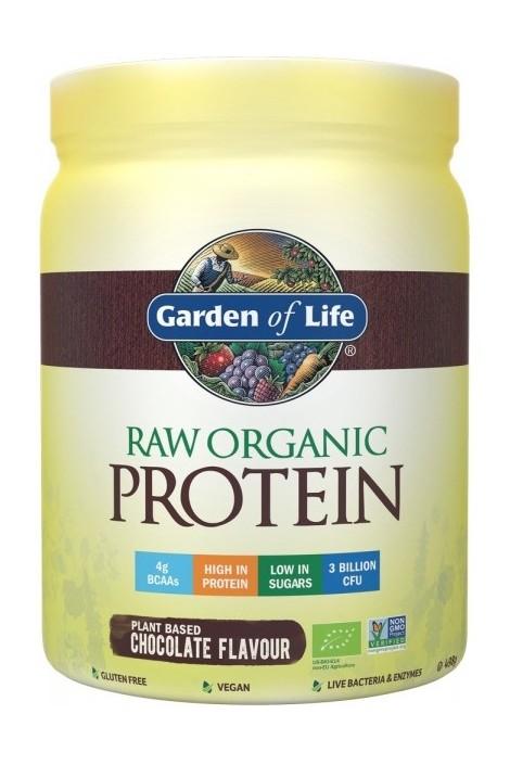 RAW Organic Protein Chocolate (498g) (NL-BIO-01)
