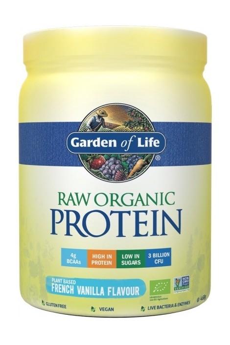 RAW Organic Protein Vanilla (468g) (NL-BIO-01)