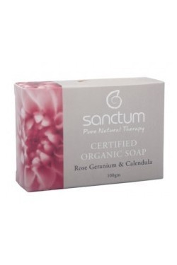 Sanctum Rose Geranium & Calendula Soap (100g)