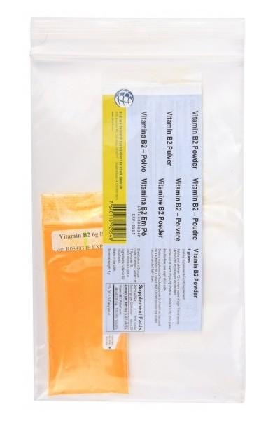 Vitamin B2 (Riboflavin) 6g