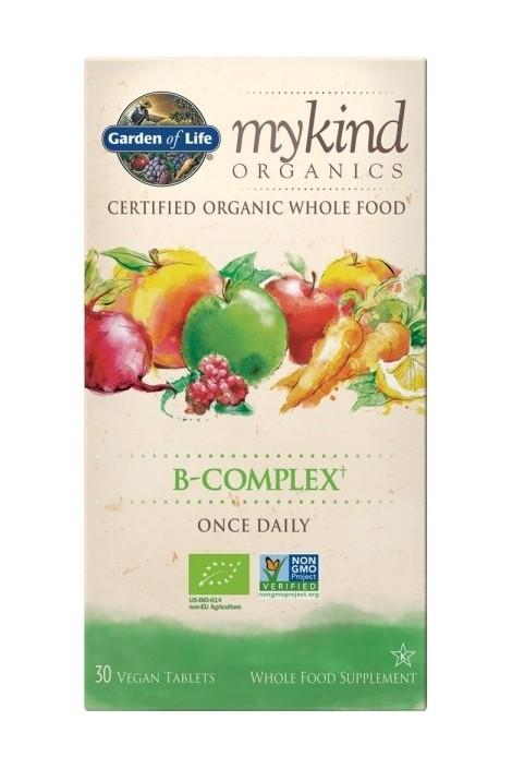 mykind Organics B-Complex Once Daily (30) (NL-BIO-01)