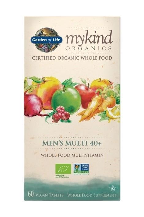 mykind Organics Mens Multi 40+ (60 Tabs) (NL-BIO-01)