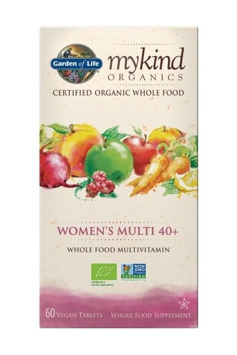 mykind Organics Womens Multi 40+ (60 Tabs) (NL-BIO-01)
