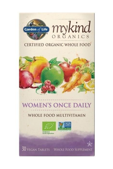 mykind Organics Womens Once Daily Multi (30 Tablets) (NL-BIO-01)